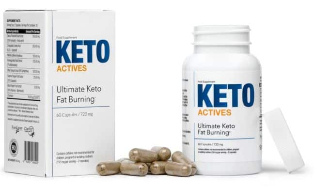 keto actives dieet pillen