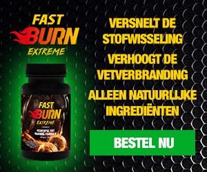 vet verbranden met fast burn extreme